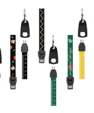 3-in-1 Multi-function Data Cable Lanyard