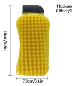 3-in-1 Premium Silicone Kitchen Sponge
