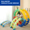 Balanced Single-plank Bridge