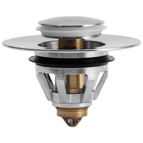 Stainless Steel Rebound Core Push Drain Filter Prevents