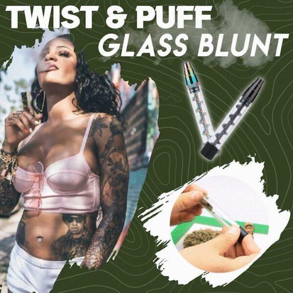 Twist & Puff Glass Blunt